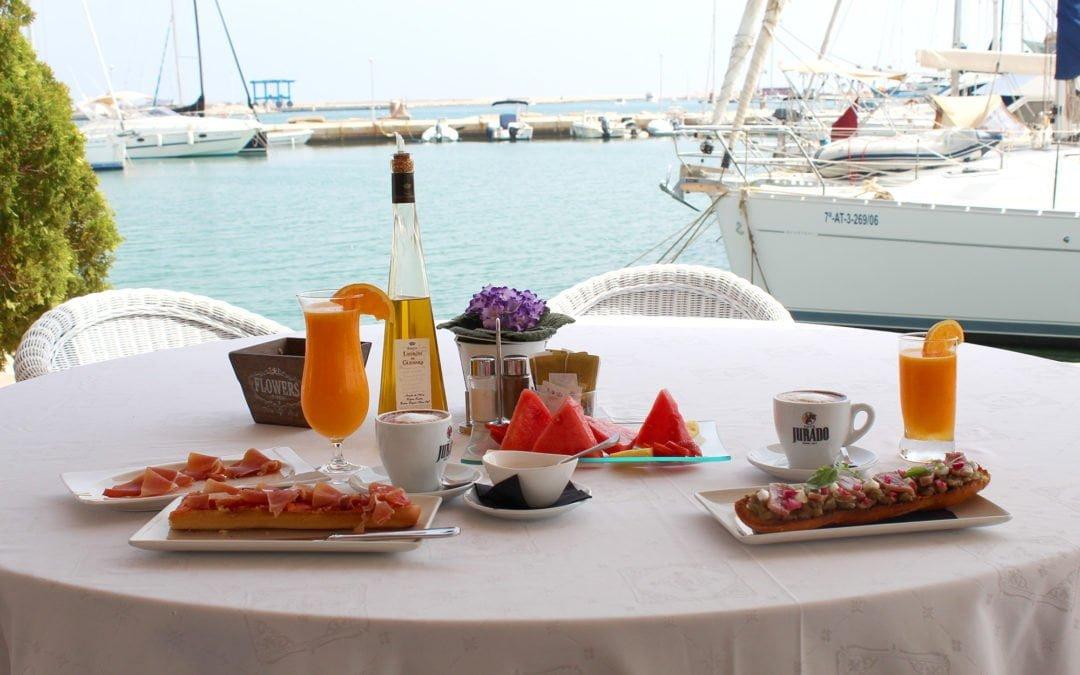 Desayunos con unas vistas espectaculares