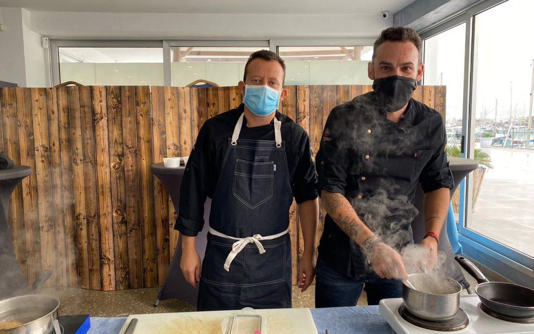 Jornada de formación de cocina creativa en Balandros