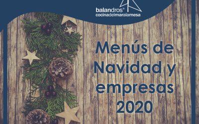 Menús de navidad y empresas para celebrar en Balandros